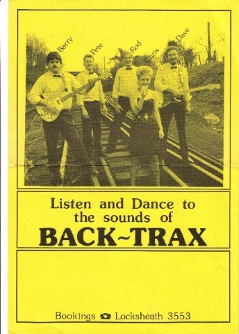Chris with BACK-TRAX Function band 1987 Medium Web view