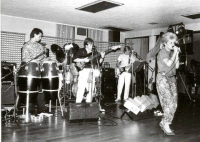 Chris with band TOUCH, late eighties! Medium Web view